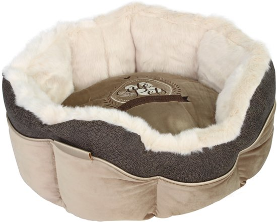 Happy-House Mand Cute Pet 46x46x21 cm Taupe