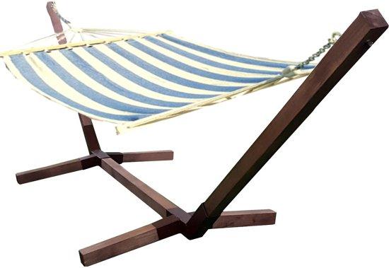 Motyl-Eenpersoons Hangmatset / 1-persoons Hangmat met standaard