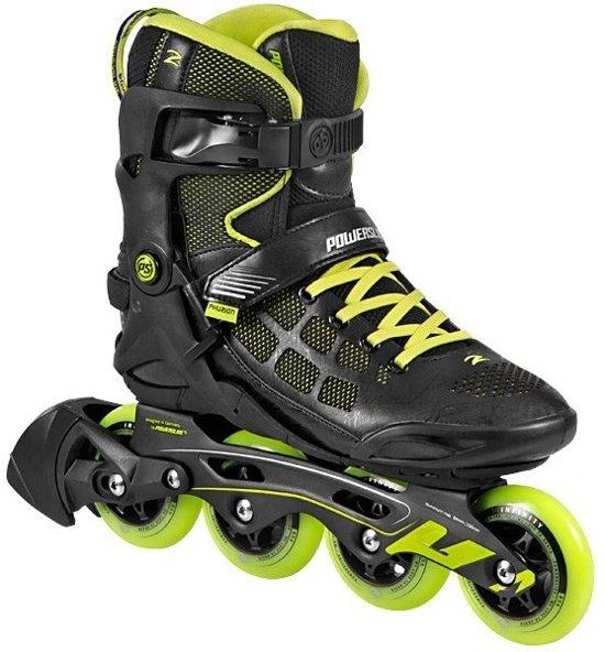 Powerslide Inline Skates Phuzion Epsilon Heren Zwart/groen Maat 40