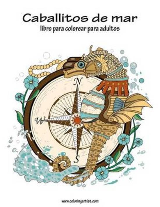 bol.com | Caballitos de Mar Libro Para Colorear Para Adultos 1 ...