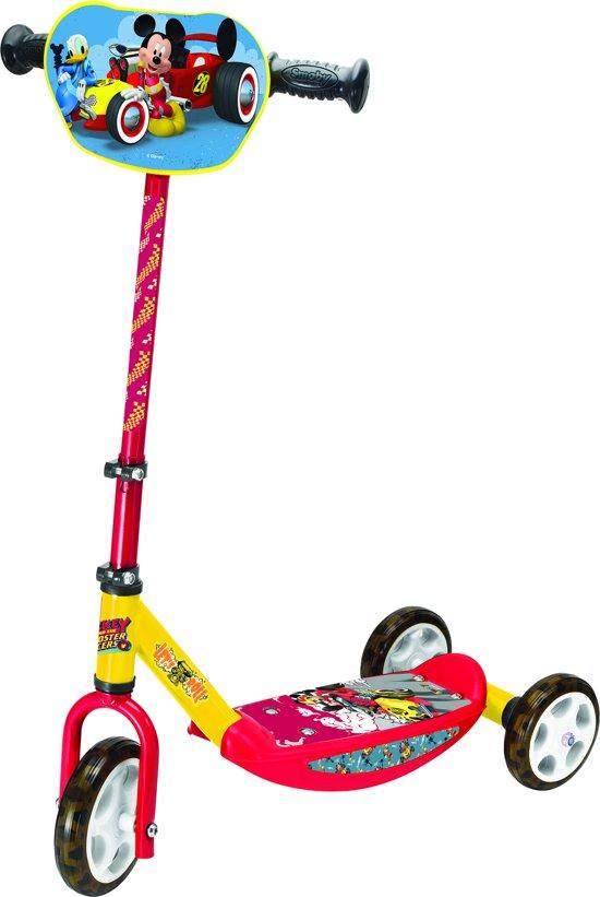 Mickey Roadster Racer met 3 wielen - Step