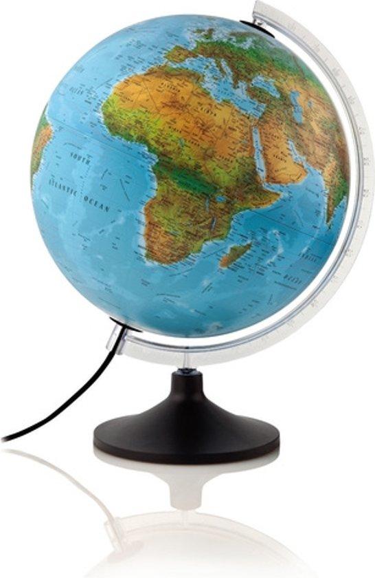 bol.com | Wereldbol NL Globe Solid Line B met verlichting 30cm ...