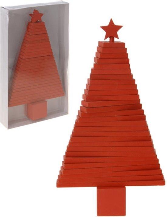 Flexibele kerstboom rood