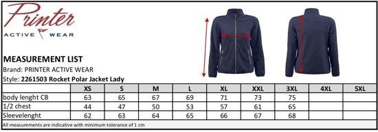 3xl Red Vest Fleece Rocket Flag Lady 2261503 Zwart Maat qqr8Sn