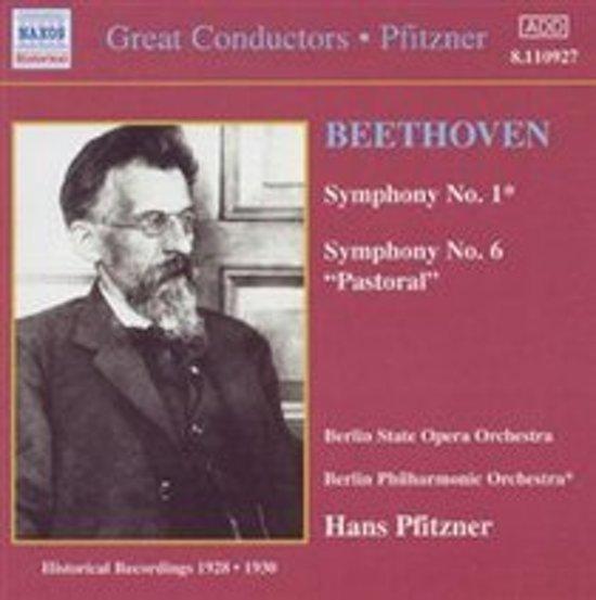 Great Conductors - Pfitzner - Beethoven: Symphonies 1 & 6