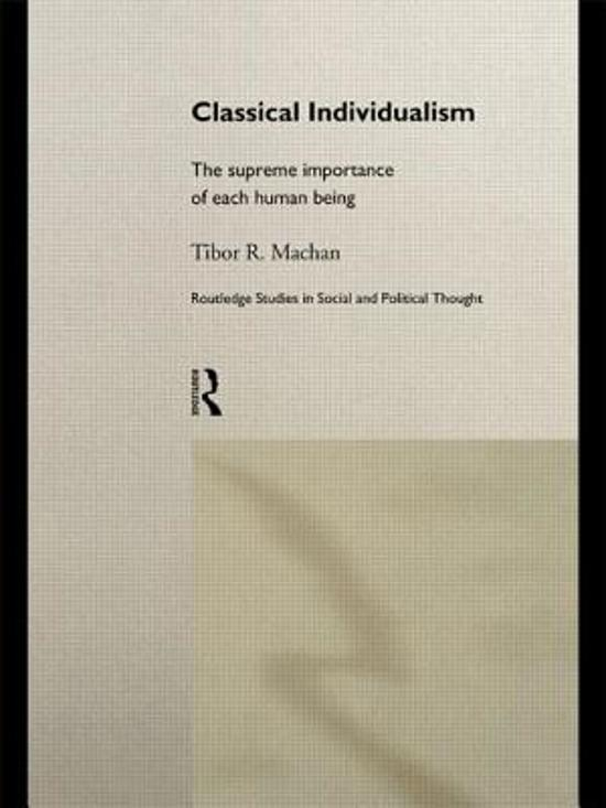 Classical Individualism