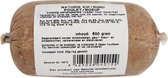 NATURIS KIP/RUND COMPLEET 150 GR