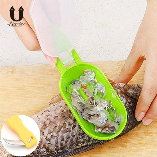 schubbenkrabber - vis schoonmaken - schubben - vis - voorbereiding