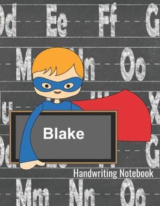 Handwriting Notebook Blake