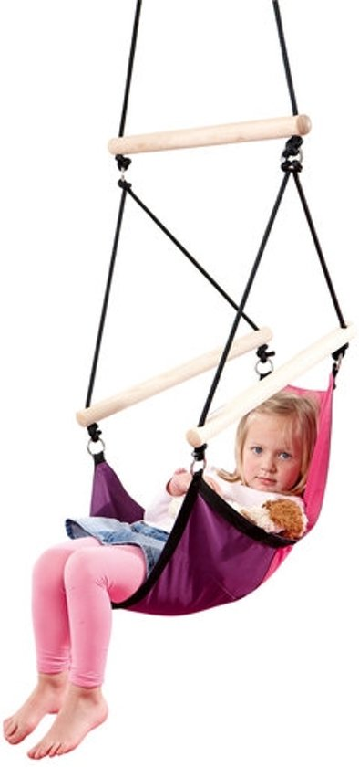 Kinderhangstoel 'Swinger' pink