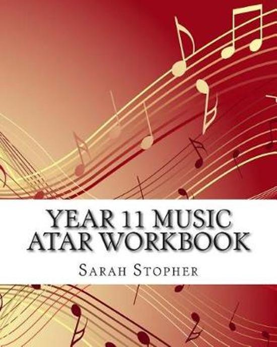 Year 11 Music Atar Workbook