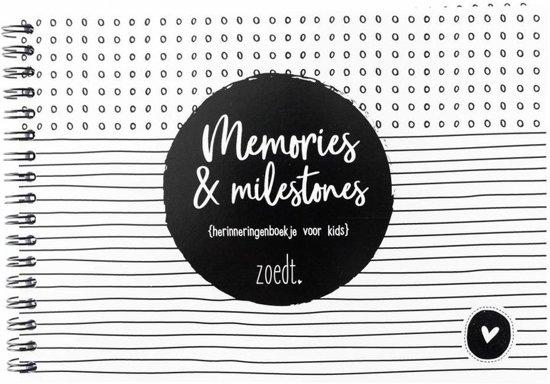 Afbeelding van Memories & Milestones Herinneringenboekje voor kids speelgoed