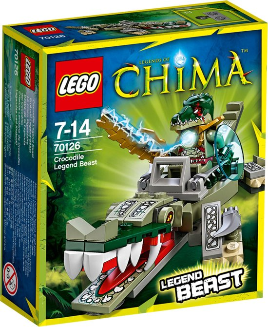 Bolcom Lego Chima Krokodil Legendebeest 70126 Lego Speelgoed