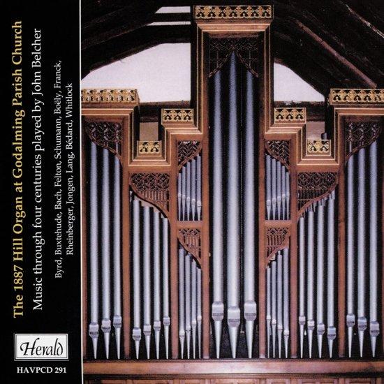 The Hill Organ1887 Hill Organ at Godalming Parish Church