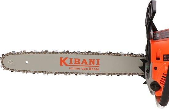Kibani kettingzaag 45 cm / cc + extra ketting
