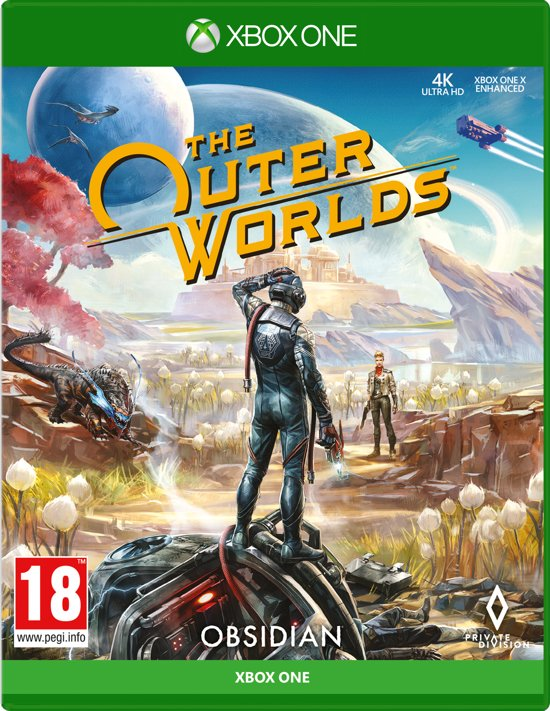 Cover van de game The Outer Worlds - Xbox One