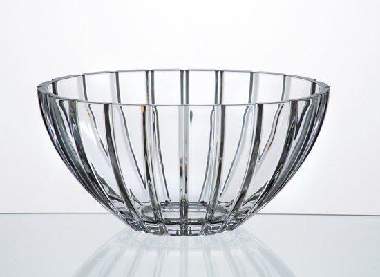 Kristal schaal Oval 30.5 cm
