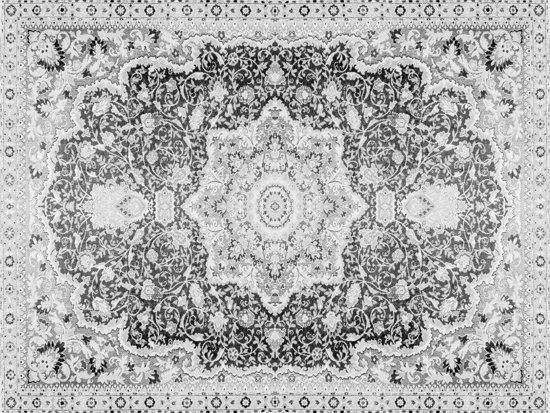Vinyl Vloerkleed   Persia grijs   140x195cm
