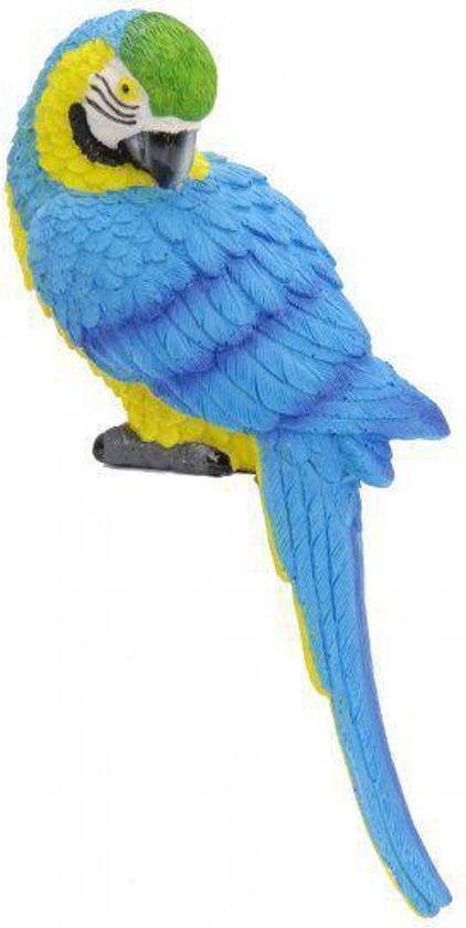 Verwonderend bol.com | Fun & Feest Tuinbeeld Fel blauwe papegaai RT-71