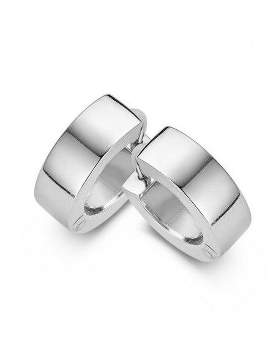 Casa Jewelry Oorringen Wals Small - Zilver