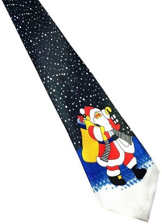Kerst stropdas – Merry Christmas and a Happy New Tie Nr. 12