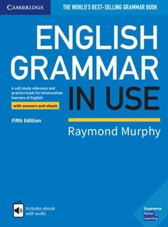 English Grammar in Use - Fifth edition book   answers   interactive ebook