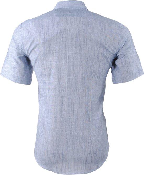 Grijs Overhemd Licht Fit Korte Mouw Slim PradzHeren AL4Rj5