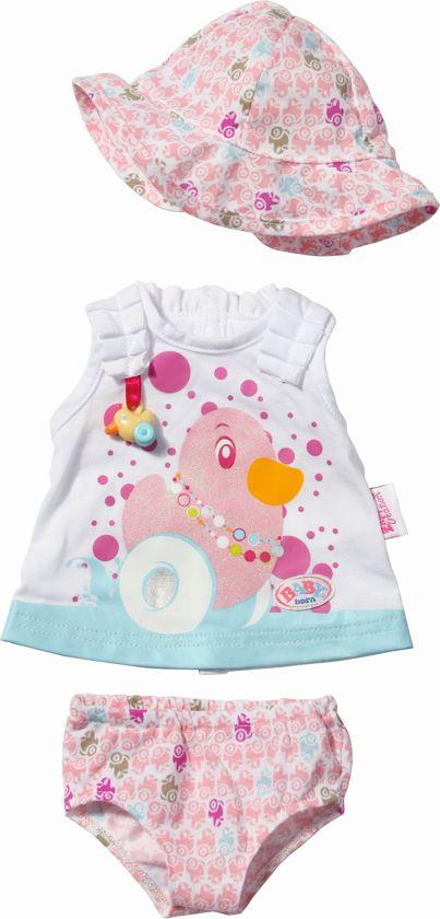 25330e6476f0a9 bol.com | Fashion Kleding Collection Baby Born blauw, BABY born ...
