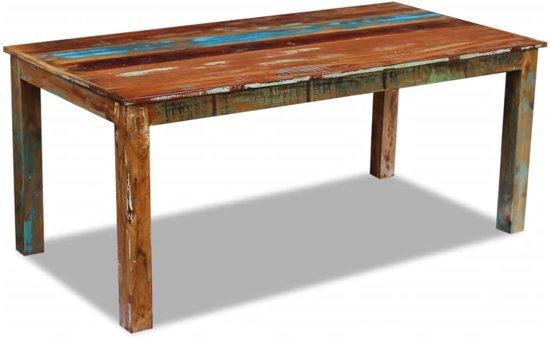 Bol vidaxl eettafel massief gerecycled hout cm