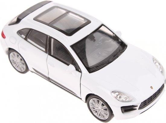 Bol Com Welly Schaalmodel Porsche Macan Turbo Wit Welly Speelgoed