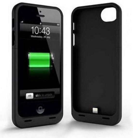 externe batterij iphone 5 5s powerbank zwart. Black Bedroom Furniture Sets. Home Design Ideas