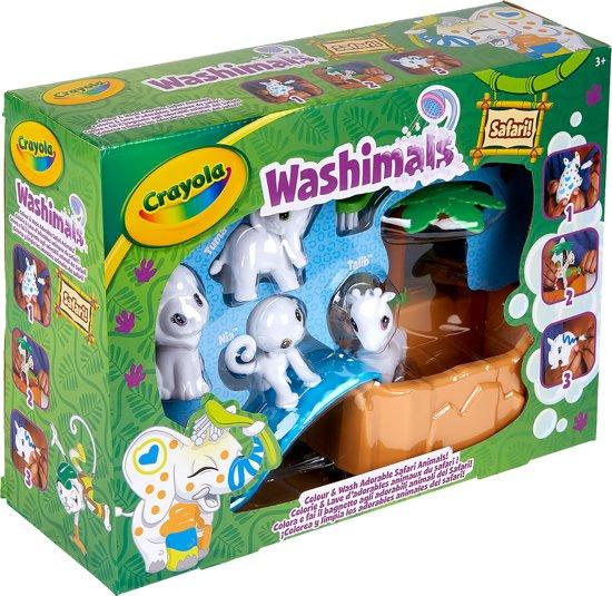 Afbeelding van Crayola - Washimals Safari Set speelgoed