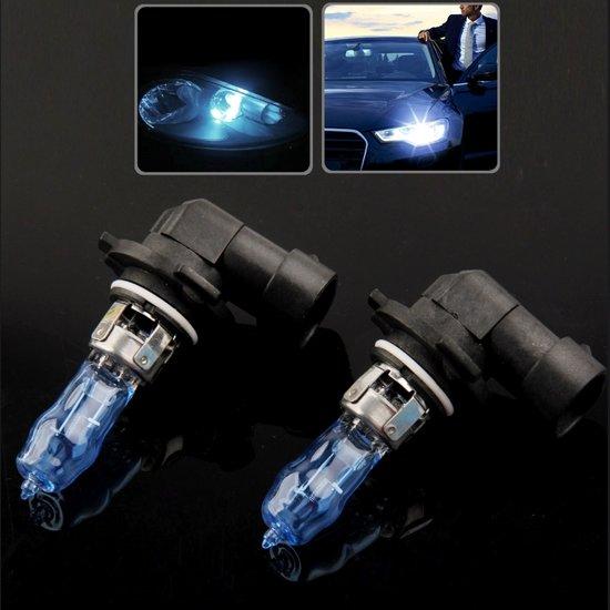 HOD 9005 halogeenlamp, super witte koplamp voor auto, 12 V / 100W, 6000K 2400 LM (paar)
