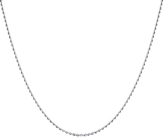 Lucardi - Zilveren ketting ankerschakel