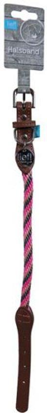 Lief! Halsband Girls Beige / Roze - 45X1 CM