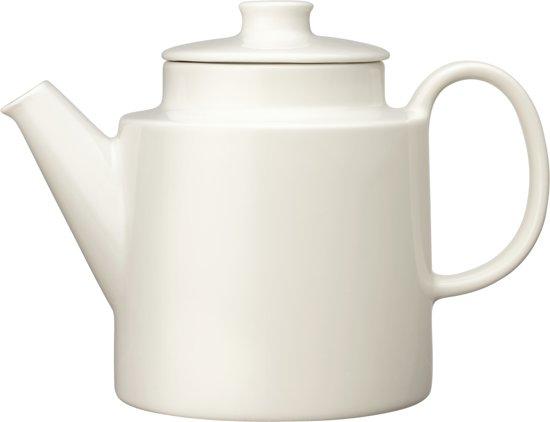 Iittala Teema - Theepot met Deksel - 1 liter - Ø 13,6 cm - Wit