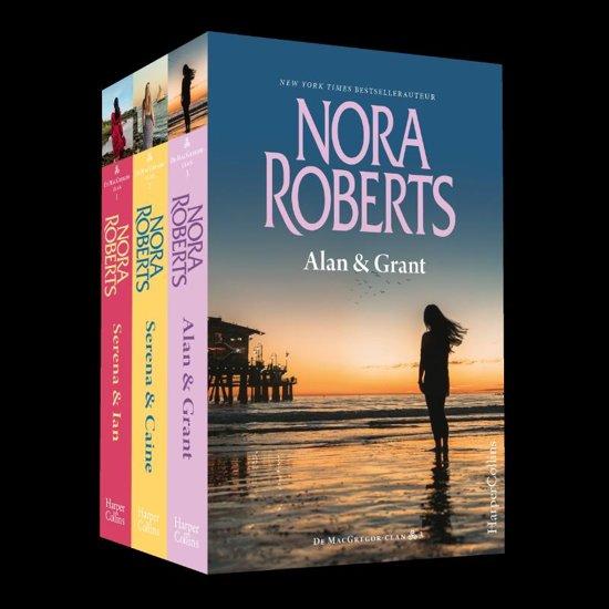 Boek cover MacGregor Clan-pakket van Nora Roberts (Paperback)