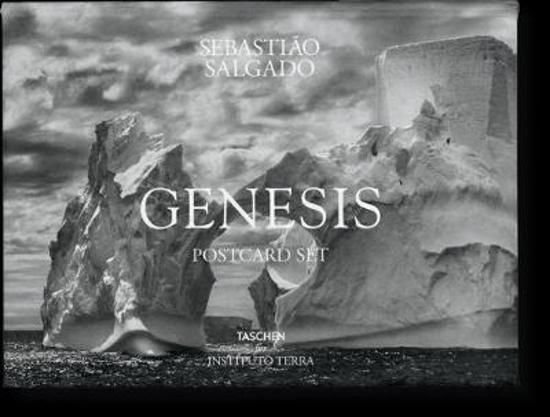 Boek cover Sebastiao Salgado. GENESIS. Postcard Set van unknown (Onbekend)