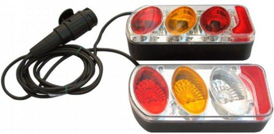 Peruzzo achterlichtset met kabel 13-pin