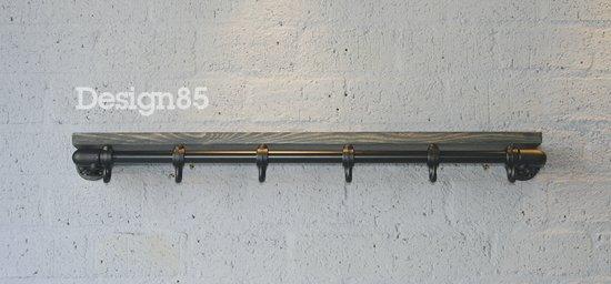 Kapstok Van Steigerbuis.Bol Com Design85 Kapstok Basic 70 Cm Steigerbuis Zwart
