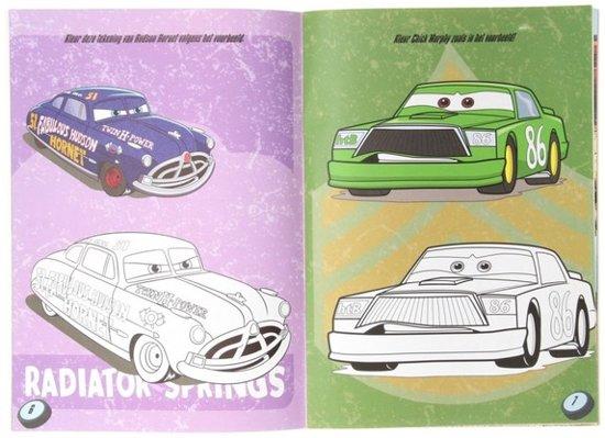 Bol Com Cars Kleurboek Inlusief Cars Poster