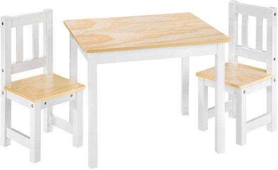 Bol.com tectake kindermeubelset tafel en 2 stoelen robuust