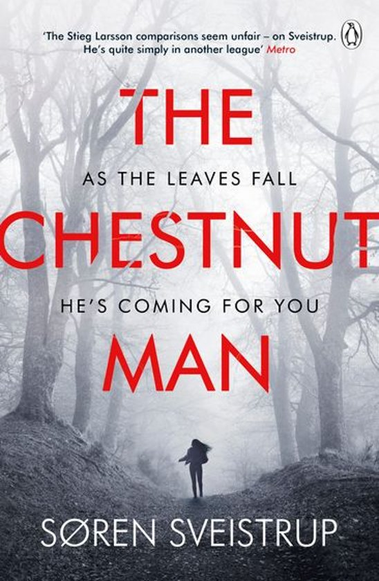 Boek cover The Chestnut Man van Soren Sveistrup (Onbekend)