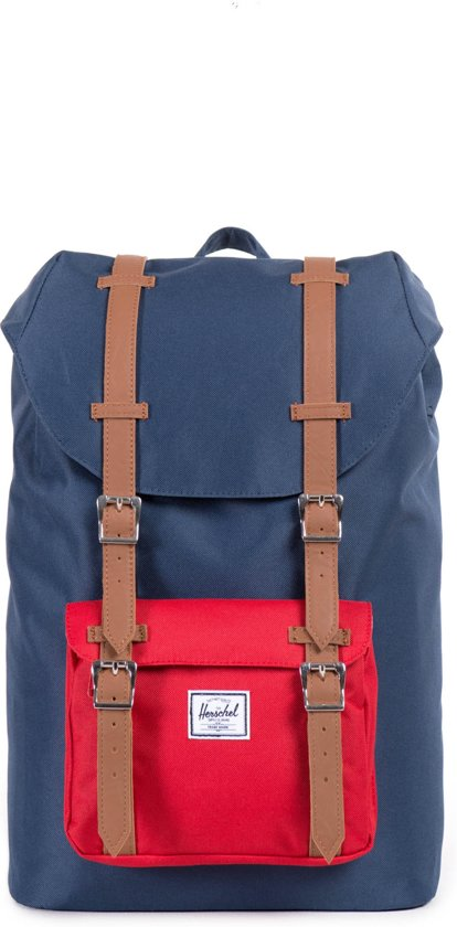 f036aadb7 Herschel Supply Co. Little America Mid-Volume - Rugzak - Navy / Red /
