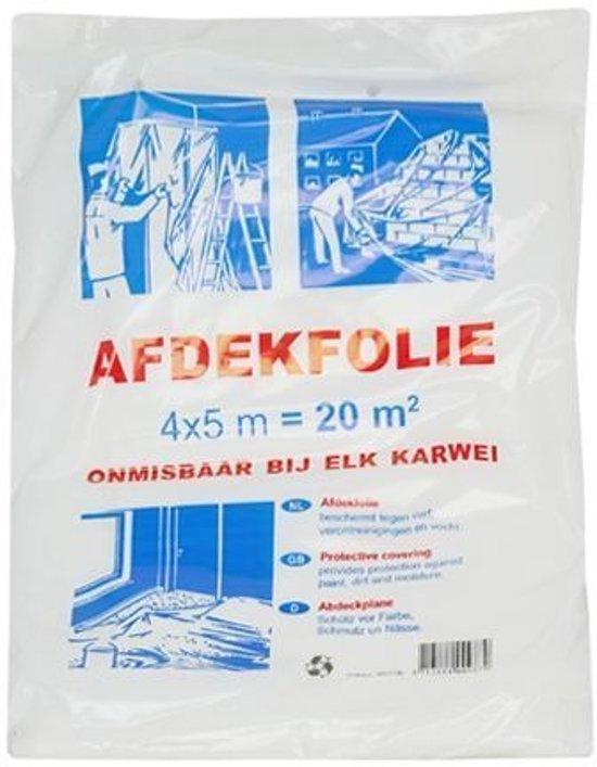 Afdekfolie - 4x5m