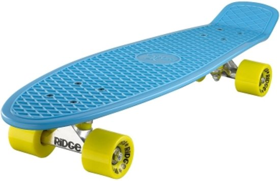 Penny Skateboard Ridge Retro 27'' Skateboard Blue / Yellow