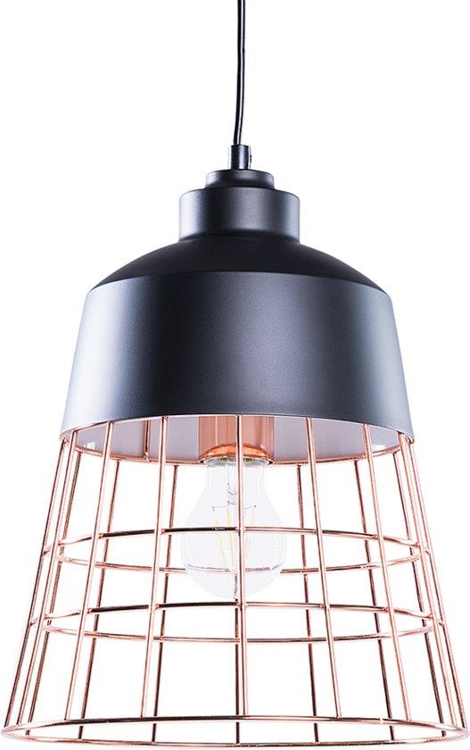 bol beliani monte hanglamp metaal zwart