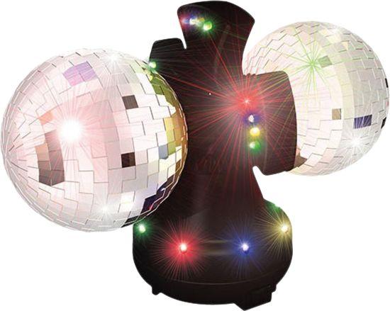 bol.com | Discobal LED - Roterende Discobal - Zwart, Acr | Speelgoed