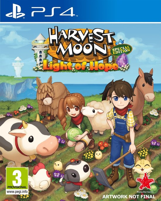 Harvest Moon - Light of Hope Special Edition PS4
