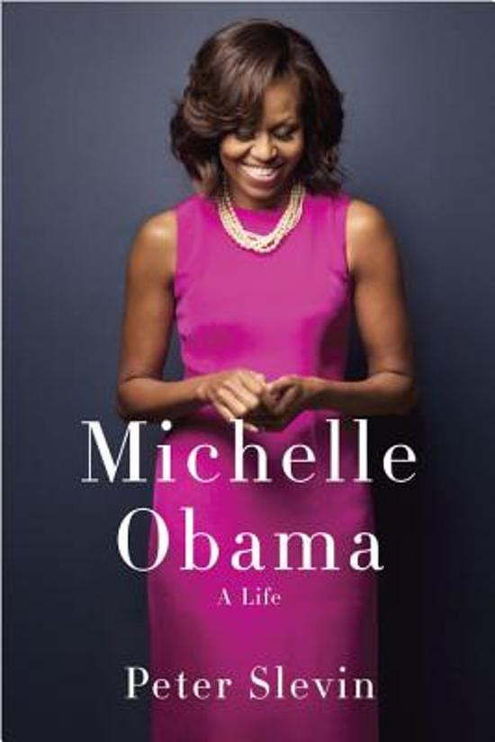 Boek cover Michelle Obama van Peter Slevin (Hardcover)